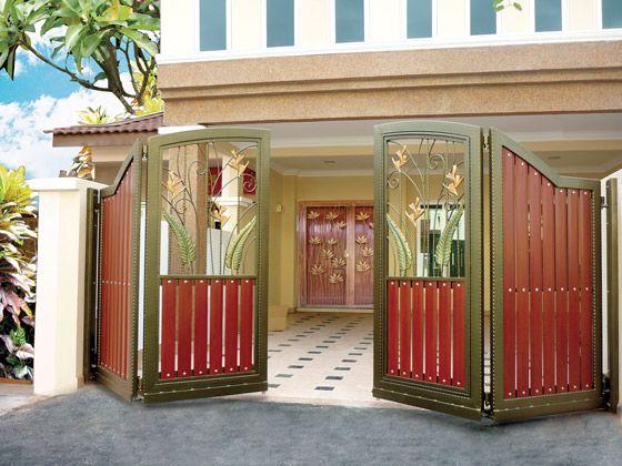 Pinterest the world s catalog of ideas for Modern house gate design