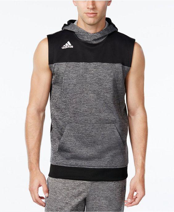 adidas Men's Colorblocked Sleeveless Hoodie | SWEATSHIRT& HOODIE ...