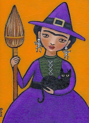 Pinzellades al món: Un Halloween amb gats / Un Halloween con gatos / A Halloween with cats