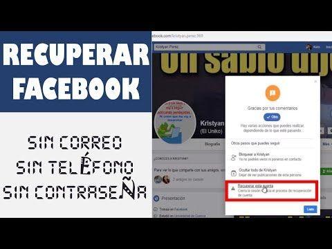 Como Recuperar Tu Cuenta De Facebook Desde Otra Cuenta Sin Correo Sin Teléfono Sin Contraseña Youtube Recuperar Cuenta Perfil De Facebook Youtube