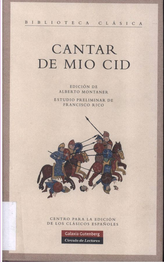 cantar de mio cid song of the cid essay