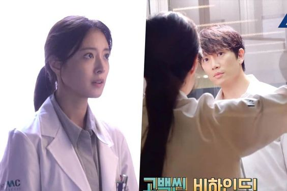 "Watch: Lee Se Young And Ji Sung Show Determination For Elevator Confession Scene In ""Doctor John"" Making Video"