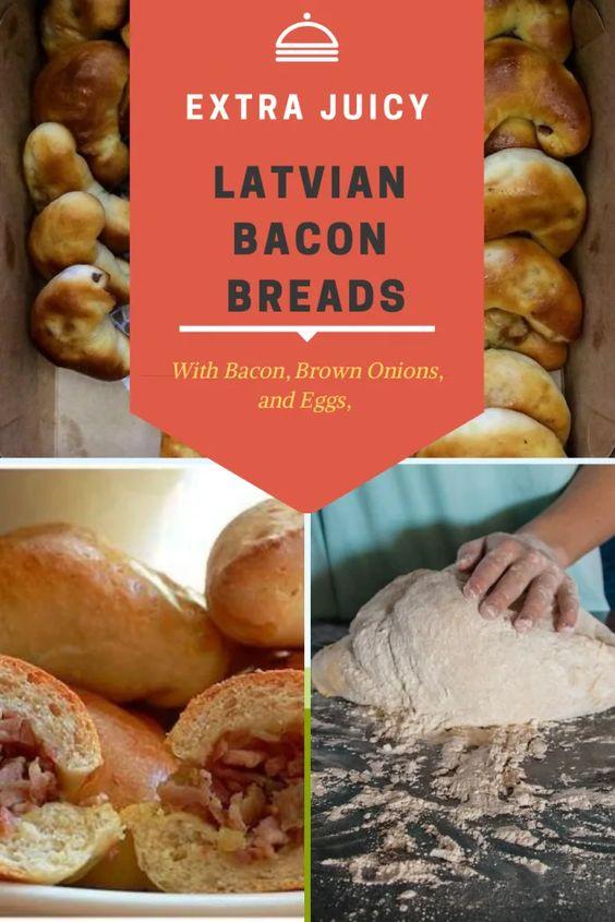 latvian bacon bread recipe