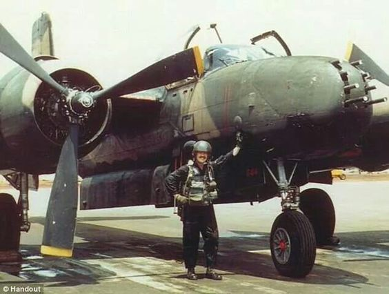 Vietnam... Douglas A-26 invader, used thru 1969 in Vietnam