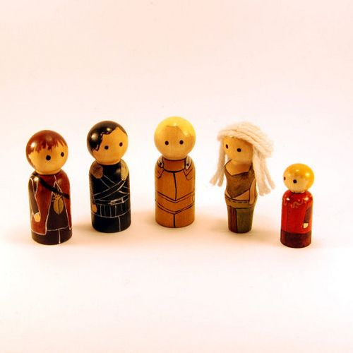 game of thrones peg dolls - Google Search