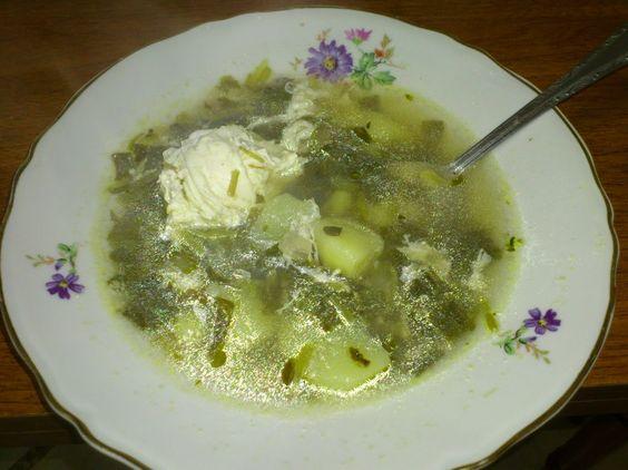 მჟაუნას წვნიანი   Sorrel soup