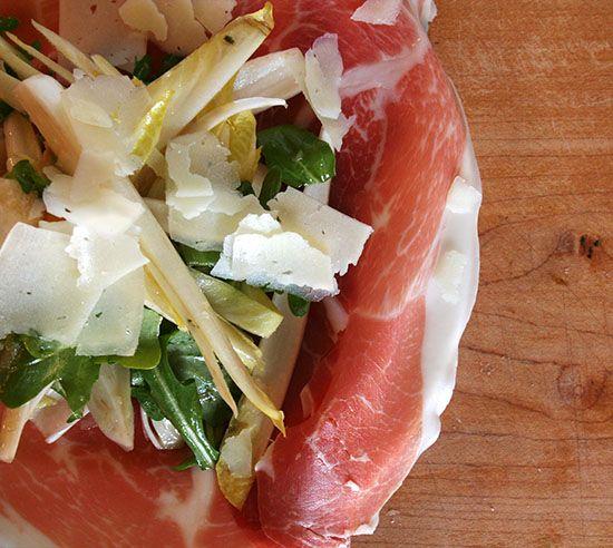 Prosciutto, Endive & Shaved Manchego Salad with Tarragon ...