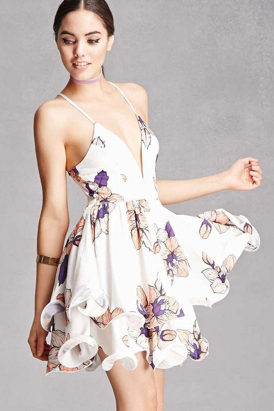 Selfie Leslie Floral Cami Dress