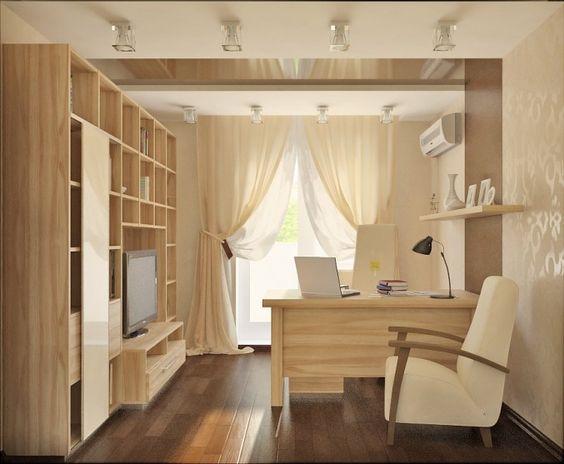Дизайн домашнего кабинета clavel.ru/
