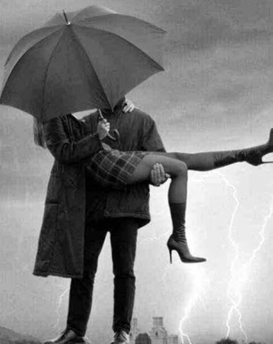 LLUVIA Y SOMBRILLAS....❤