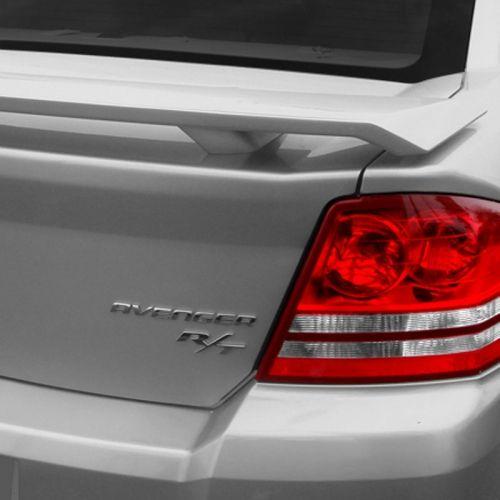 Dodge Avenger Custom Style Pedestal Rear Deck Spoiler 2008 2014 Avenger Dodge Avenger Chrysler 200 Chrysler