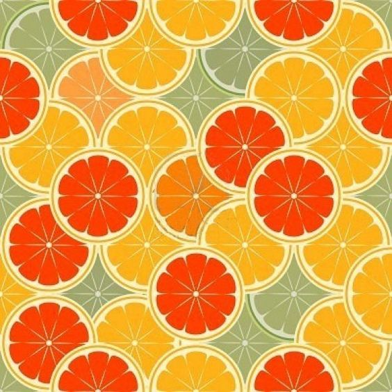 Oranges as a pattern, public domain image (from a kinda strange source: Hawaiian dermatologists?):