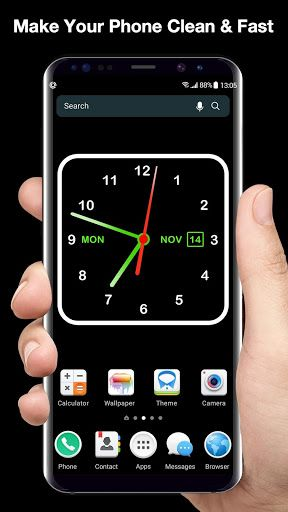 Download Digital Clock Live Wallpaper Launcher On Pc Mac With Appkiwi Apk Downloader Clock Wallpaper Live Wallpapers Android Wallpaper Minimalist Digital clock live wallpaper