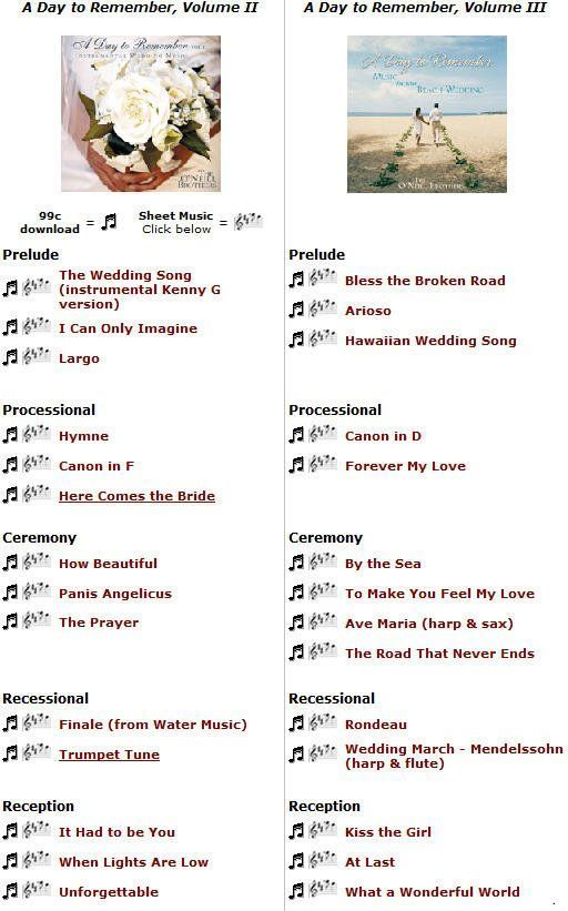 Images Of Wedding Music List Of Wedding Ceremony Songs Ceremony Songs Wedding Ceremony Songs Wedding Music List
