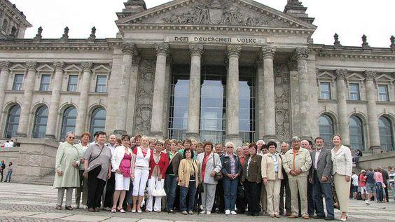 18. Juni 2009: Eine Besuchergruppe aus Stöckey besuchte auf meine Einladung am Donnerstag den Bundestag.