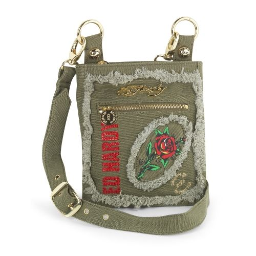 Ed Hardy Feiga Cavalier Messenger Bag http://c69.co/12709267