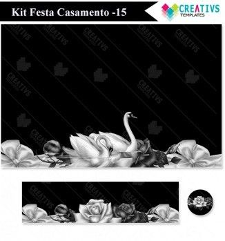 Kit festa Casamento mod:15