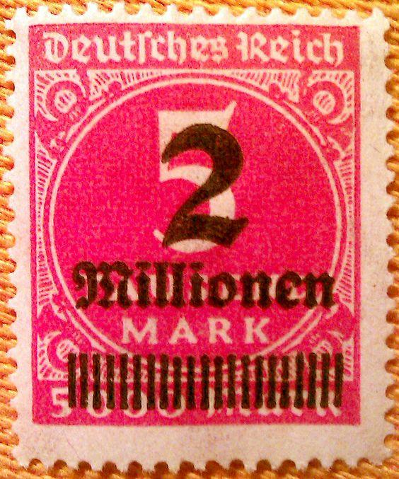 Vintage German Postage Stamp Stamps Europe Pinterest