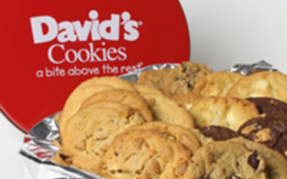 Enter your email address to save Fresh Baked Cookies 2 lb. Tin from David's Cookies to your iPhone or Android device.