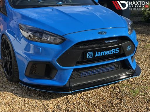 Speed Up Your Week With One Of Our Front Racing Splitters Jamezrs Instagram With One On His Focus Mk3 Rs As One Of Four Front Ford Focus Ford Focus Rs