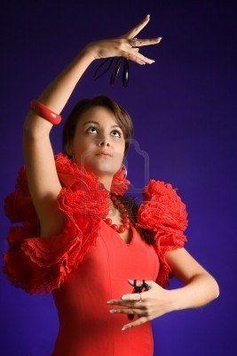 castanuelas son instrumentos espanoles. Castanuelas son divertido y facil a tocar! bailarines flamenco usan castanuelas!