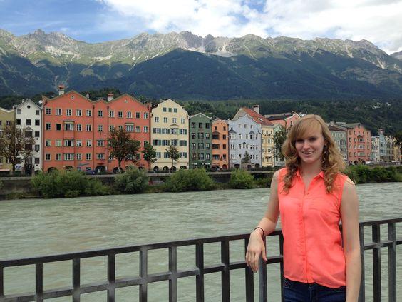 Kortney in Innsbruck, Austria. UFlorida