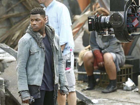 John Boyega & his cool jacket revealed in Pacific Rim: Maelstrom set photos - Movie News | JoBlo.com
