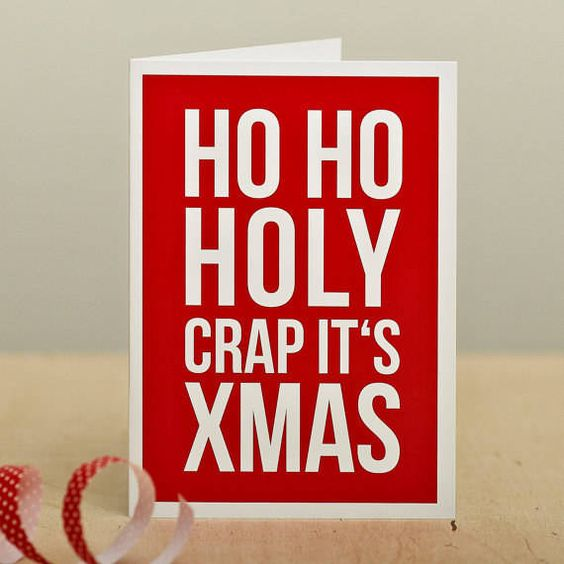 22 Christmas Cards That Are So Inappropriate, You'll Need To Have Them - Dose - Your Daily Dose of Amazing