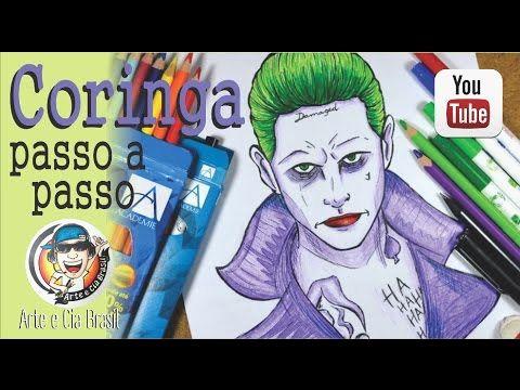 Arlequina Desenho Para Colorir O Desenhar O Coringa Estilo Cartoon