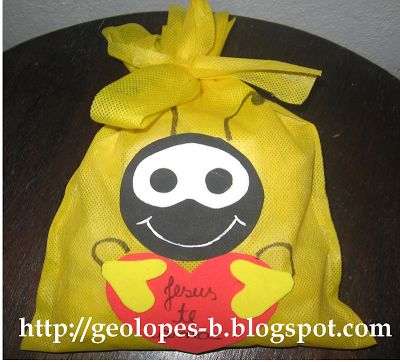Baú de Recursos para o Ministério Infantil: Sacolinha do smilinguido