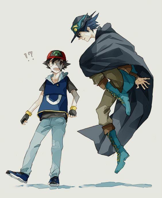Ash and Sir Aaron