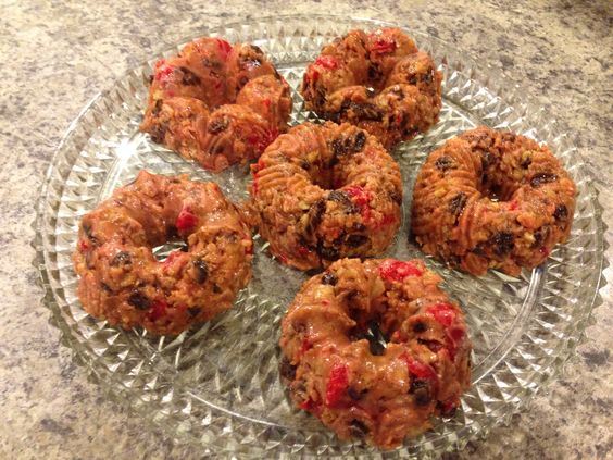 Unbaked Fruit Cake Graham Crackers