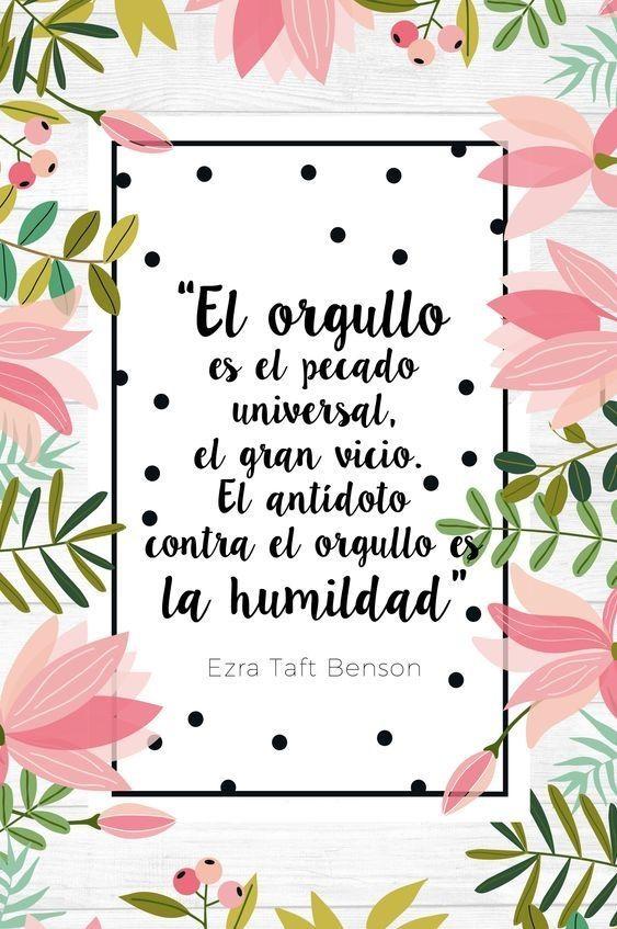 ===La humildad...=== 9ec5dd8d0e4582e1472f14a4a5a95827