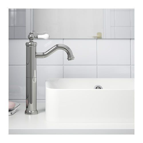Hamnskar Faucet Tall Ikea Faucet Chrome Plating Basin Mixer Taps