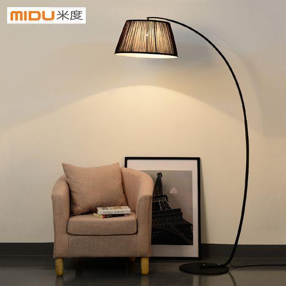 bedroom floor lamp standing lamp modern living room lamps study lamp. Black Bedroom Furniture Sets. Home Design Ideas