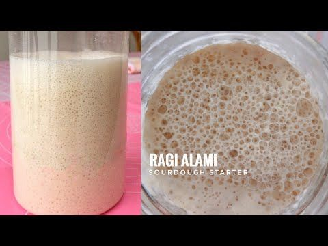 Cara Membuat Ragi Alami Sourdough Starter Tips Baking Youtube Ragi Resep Makanan Makanan