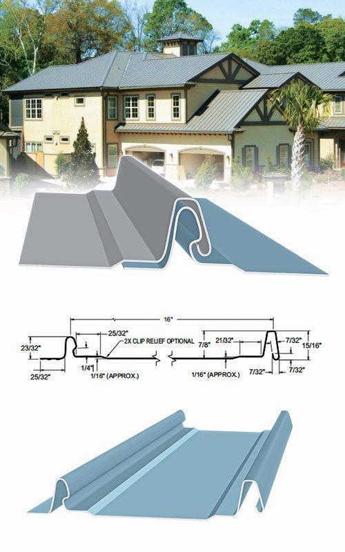 Sheffield Metals 1 0 Ff Snaplock Standing Seam Profile Standing Seam Standing Seam Metal Roof Architecture