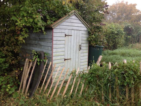 The Hedgehog Housing Co-op's garden shed