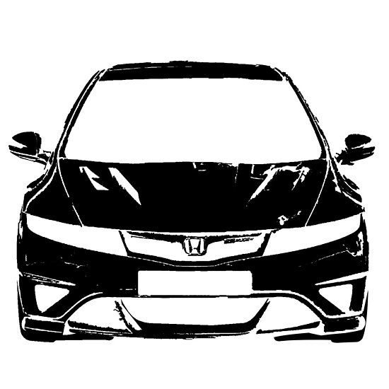 Civic Type R Fn2 Automotive Fan Art Honda Civic Type R Civic Honda Civic