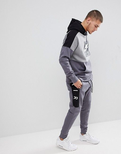 Nike | Nike Air Joggers In Skinny Fit In Grey 886048-021