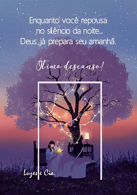 Boa Noite E Otimo Descanso Mensagem De Boa Noite Cartao De Boa
