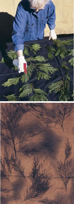 DIY Textil bleichen Dyeing with Bleach