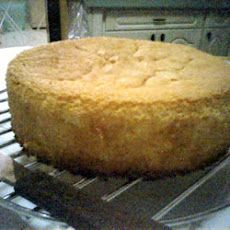 Sunshine Cake Recipe Desserts, Afternoon Tea with eggs, white sugar, boiling water, all-purpose flour, baking powder, salt, lemon extract, vanilla extract