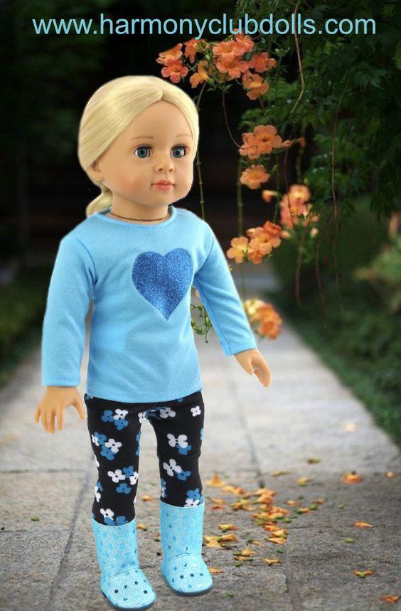 HARMONY CLUB DOLLS fits American Girl Doll Fashion www.harmonyclubdolls.com: