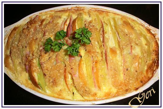 Lecker mit Geri: Wirsing-Kartoffel-Gratin