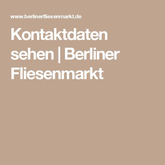 Berliner Fliesenmarkt the s catalog of ideas