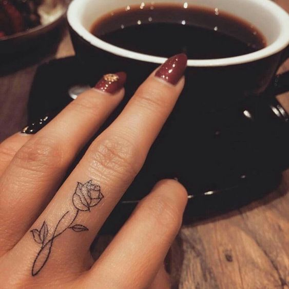 Tattoo Ideas Graphic Design Motion Art Inspirations Graphicroozane Finger Tattoo Designs Finger Tattoos Meaningful Tattoos For Women