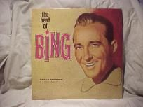 "BING CROSBY ""THE BEST OF BING"" VINTAGE DECCA DOUBLE LP"
