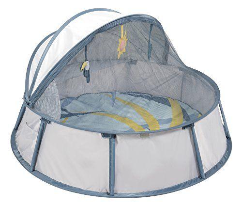 Babymoov Babyni Tropical Tente Aire De Jeux Et Lit D Appoint Protection Anti Uv 50 Simple D Utilisation Systeme Pop Tente Anti Uv Lit D Appoint Bebe Soleil