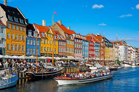 Nyhavn, Denmark  Going there in June!  Proud of my danish heritage =)